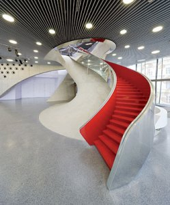 MUMUTH staircase, Image © Iwan Baan