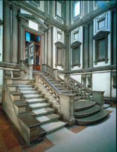 Staircase for Laurentian Library