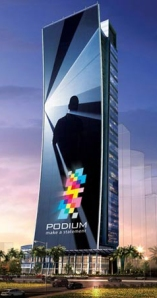 Dubai's building plan for the tallest LED screen in the world