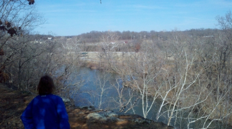Overlook of Shoal Creek